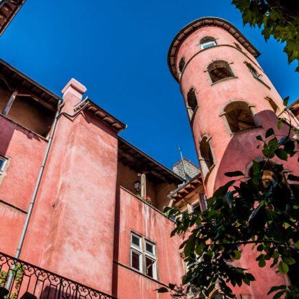 La Tour Rose, l'un des édifices les plus remarquables du vieux Lyon