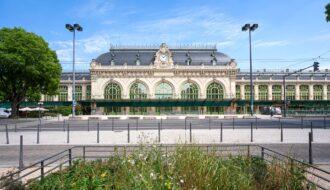 La gare des Brotteaux à Lyon