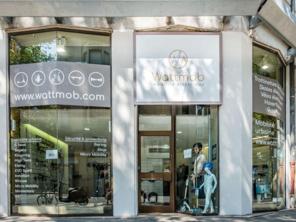 Le magasin Wattmob à Lyon Adresse : 19 Avenue Félix Faure, 69003 Lyon